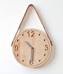 13 Desain Cara Membuat Jam Dingding Kayu Unik11