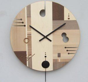13 Desain Cara Membuat Jam Dingding Kayu Unik5