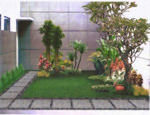 14 Gambar Taman Bunga Depan Kamar Indah 3