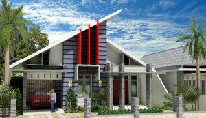 15 Model Teras Rumah Atap Miring Minimalis11