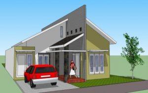 15 Model Teras Rumah Atap Miring Minimalis2
