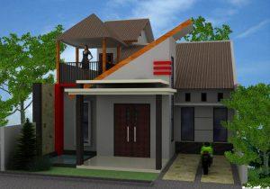 15 Model Teras Rumah Atap Miring Minimalis3