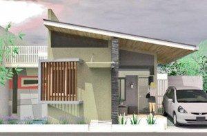 15 Model Teras Rumah Atap Miring Minimalis8