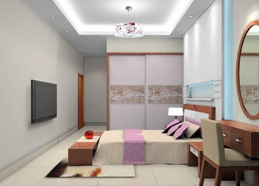 10 gambar desain kamar kecil tanpa lemari minimalis