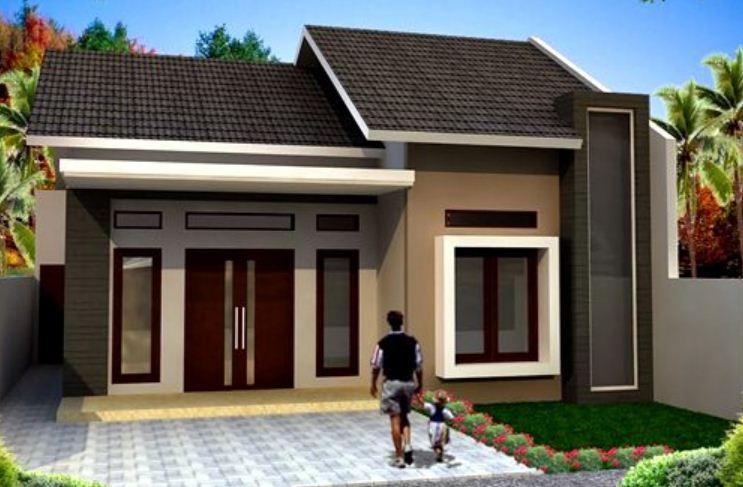 15 desain rumah minimalis 1 lantai tampak depan rumah impian