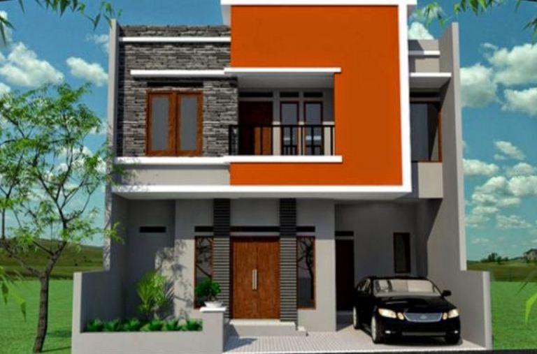 17 desain ruko minimalis modern 2 lantai rumah impian