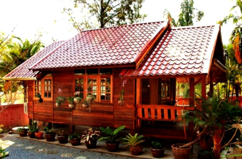 17 desain rumah kayu minimalis modern rumah impian