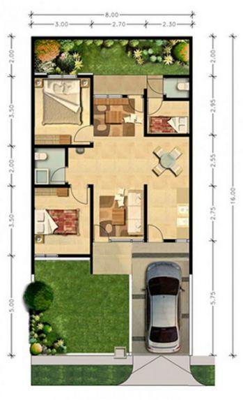 12 sketsa rumah minimalis modern sederhana rumah impian