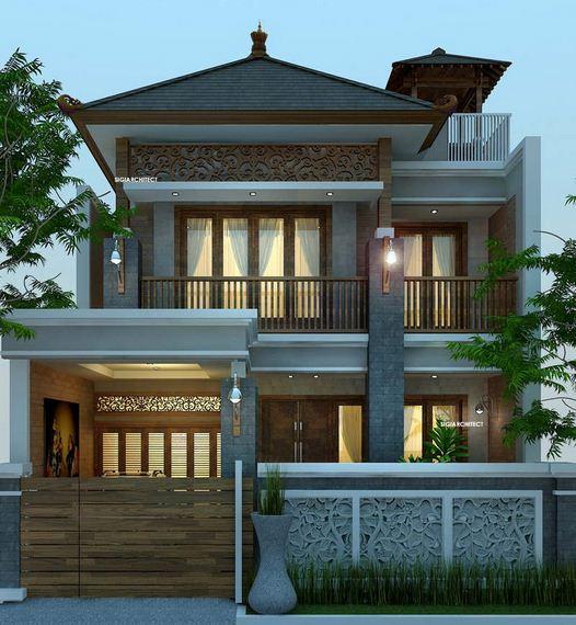 50 Desain Rumah Joglo Modern Minimalis Terbaru Rumah Impian