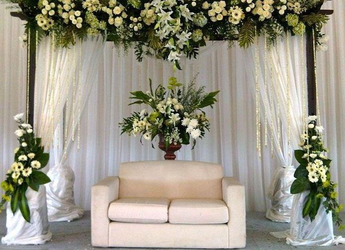 Konsep booth wedding