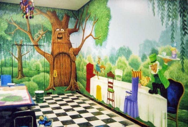 42 Contoh Lukisan Di Dinding Kamar Anak Anak Dan Remaja Rumah Impian