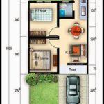 25 Denah Rumah Type 36 Minimalis 1 dan 2 Lantai