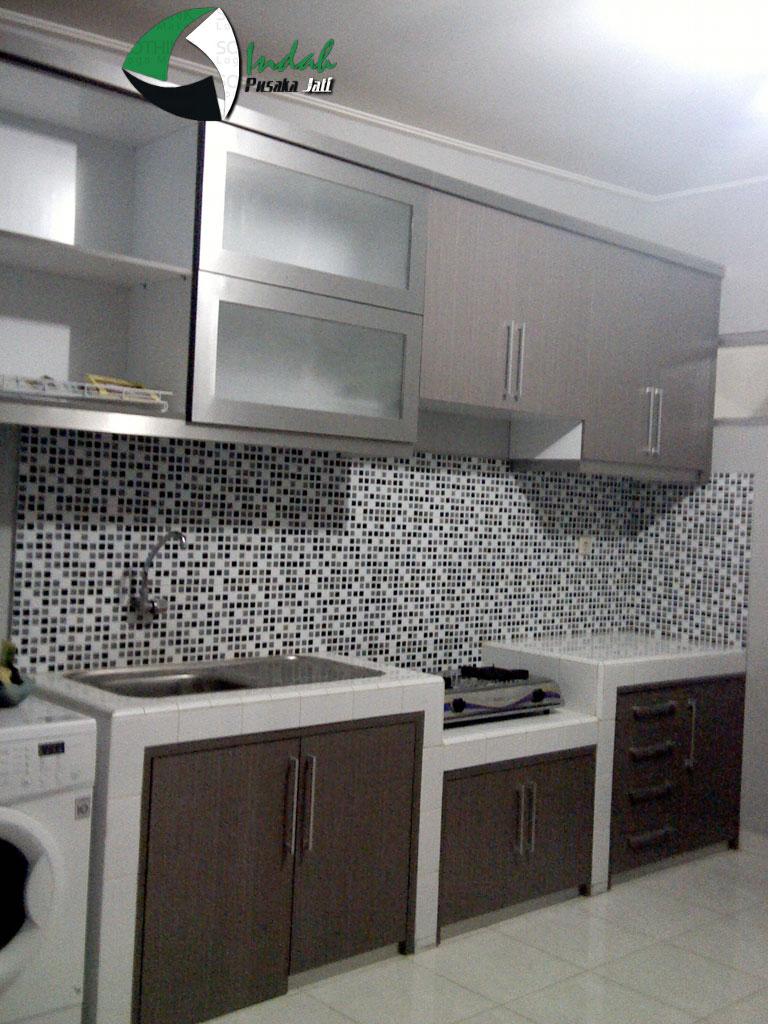 19 model meja dapur minimalis terbaru rumah impian for Kitchen set yang baik