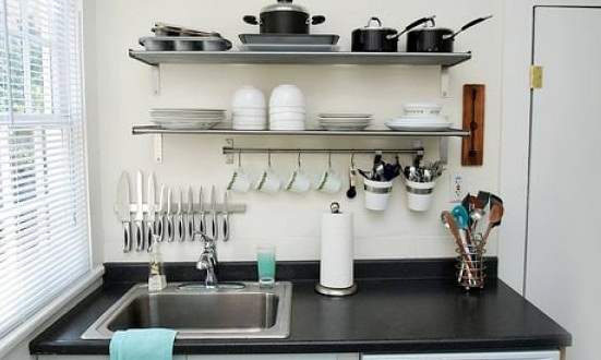 19 desain dapur minimalis sederhana tanpa kitchen set for Model kitchen set sederhana