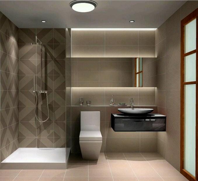 13 desain kamar mandi sempit minimalis sederhana rumah