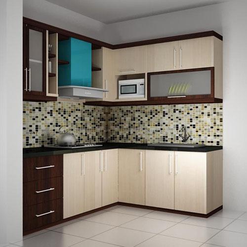 Daftar harga dan model kitchen set minimalis modern for Kitchen set lurus