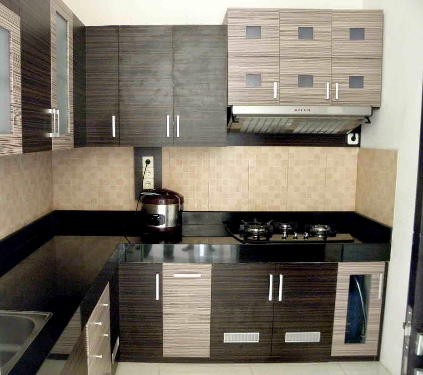 Daftar harga dan model kitchen set minimalis modern for Harga kitchen set minimalis per meter
