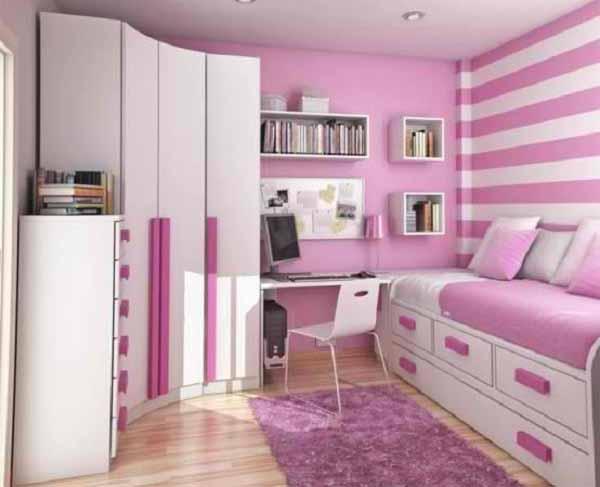 24 desain kamar tidur sempit minimalis ukuran 3x3 rumah