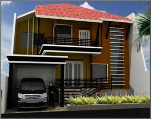21 desain rumah minimalis 2 lantai nyaman dan indah