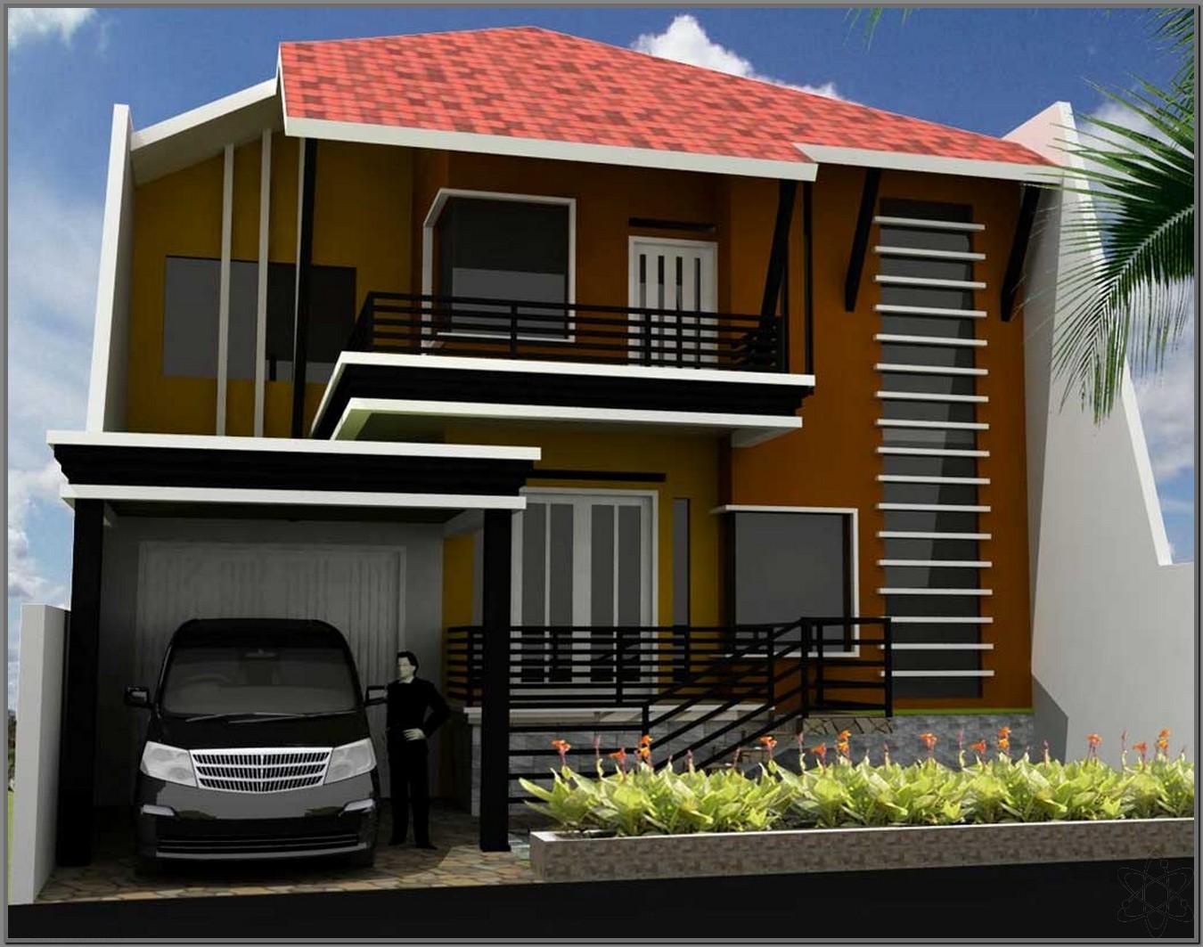 21 Desain Rumah Minimalis 2 Lantai Nyaman Dan Indah RUMAH IMPIAN
