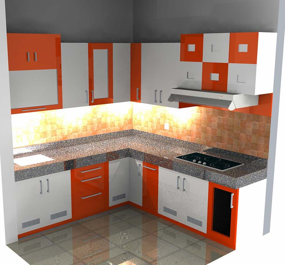 Desain Meja Dapur Dari Beton