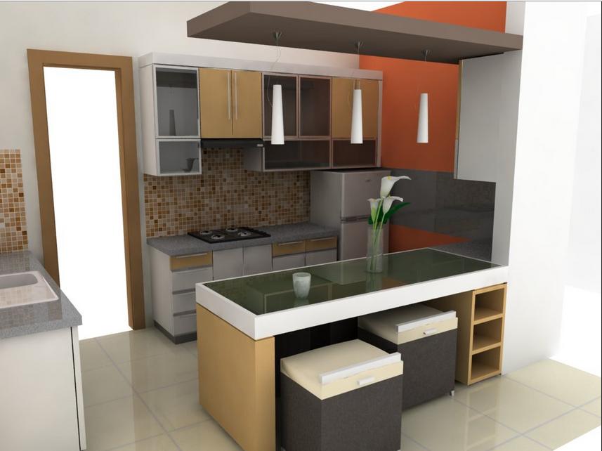 desain meja dapur