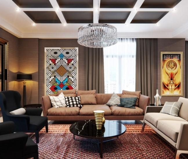 8 desain ruang keluarga minimalis klasik rumah impian