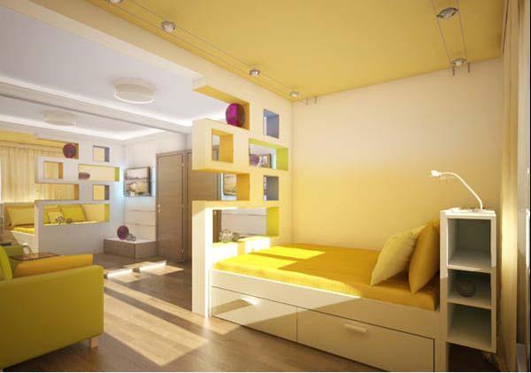 16 Desain Kamar Tidur Kecil Minimalis Modern | RUMAH IMPIAN