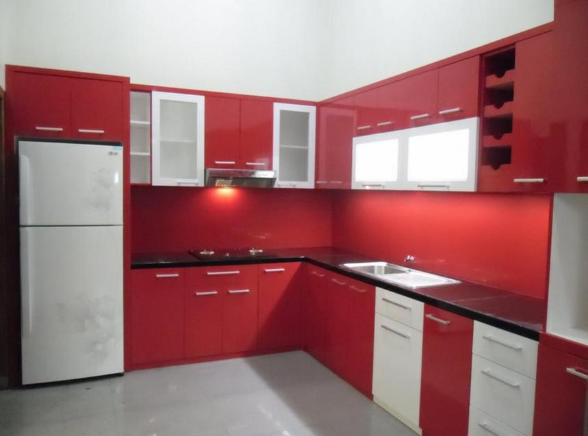19 model meja dapur minimalis terbaru rumah impian