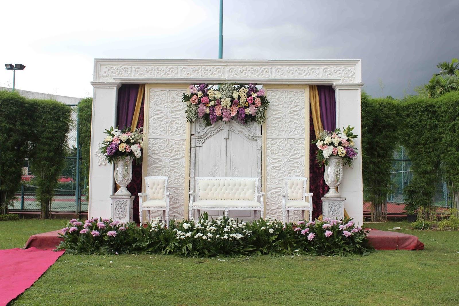 13 Dekorasi Pernikahan Outdoor Minimalis Murah