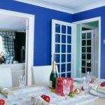 20 Dekorasi Ruang Tamu Warna Biru Muda