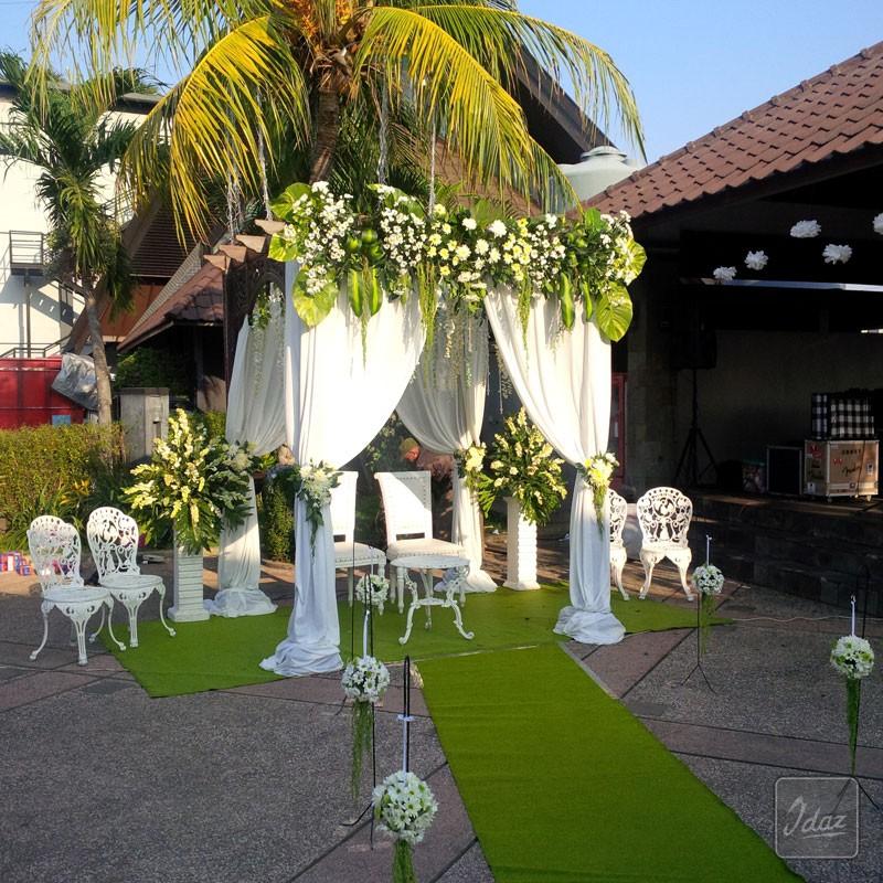 Outdoor Wedding Murah Di Bandung: 13 Dekorasi Pernikahan Outdoor Minimalis Murah