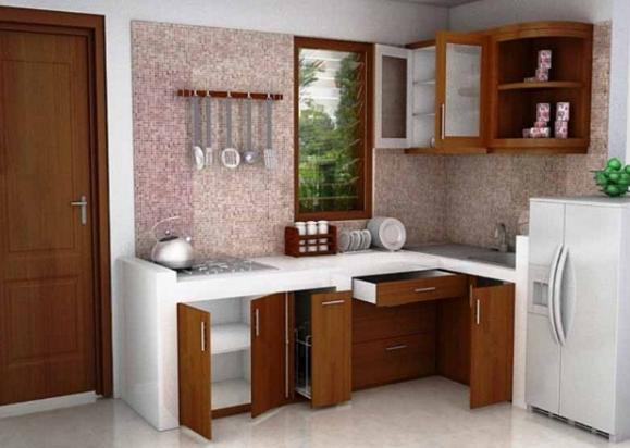 13 desain dapur sederhana unik minimalis rumah impian for Kitchen dapur