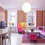 12 Desain Ruang Tamu Warna Pink yang Cantik