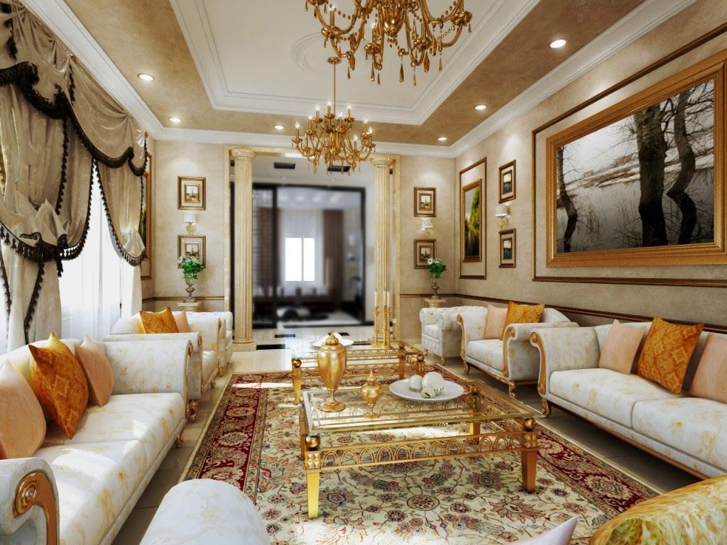 23 desain ruang tamu klasik modern rumah impian for Siti di interior design