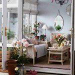 50 Hiasan Bunga di Ruang Tamu Minimalis Modern