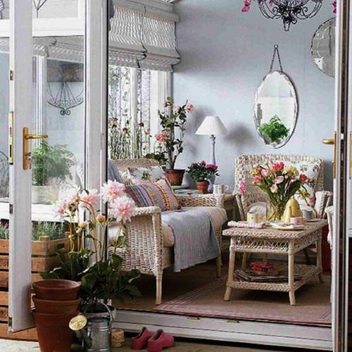 Hiasan Bunga Di Ruang Tamu Minimalis