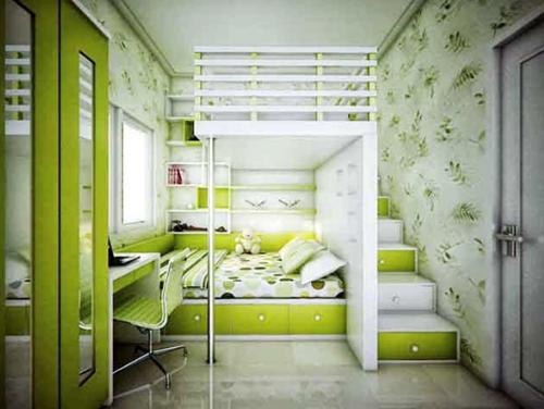 13 Desain Kamar Tidur Warna Hijau Tosca Rumah Impian