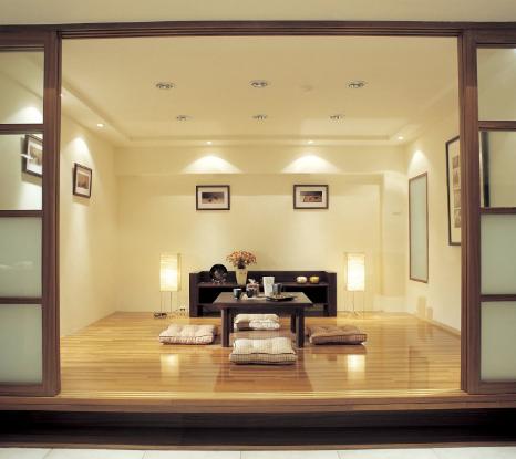 18 dekorasi ruang tamu tanpa sofa nyaman dan indah | rumah