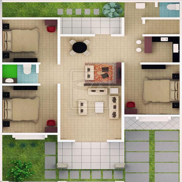 24 Desain Rumah Minimalis Type 54 Yang Menawan Rumah Impian