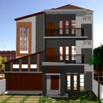 13 Desain Rumah Minimalis 3 Lantai Megah dan Menawan