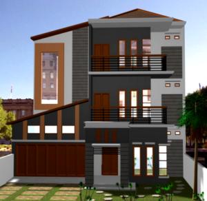 50 Desain Rumah Minimalis 3 Lantai Megah Dan Menawan