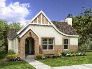 Contoh Desain Rumah Klasik Eropa Minimalis