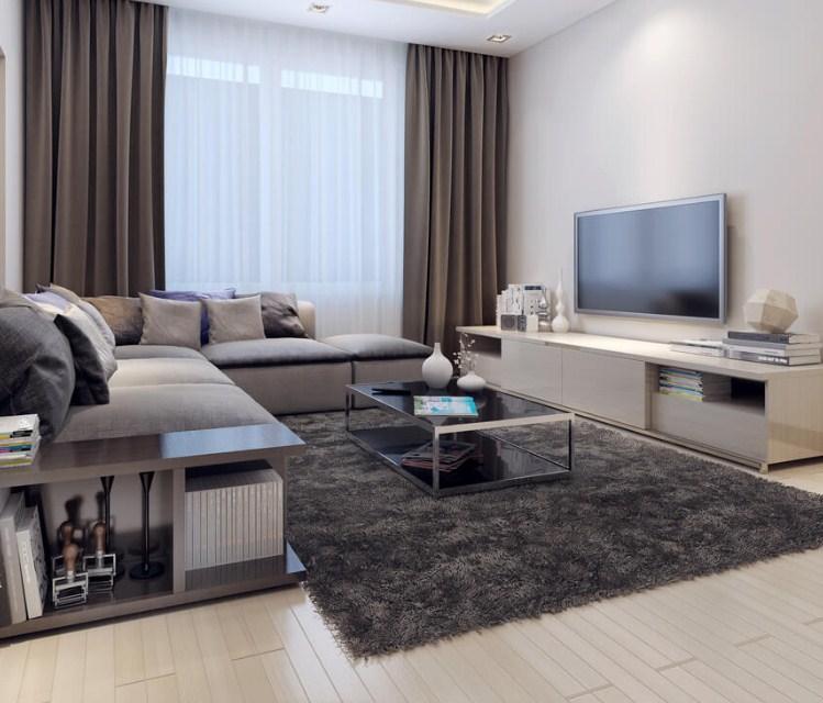 Ruang Tamu Minimalis Desain Ruang TV Minima...