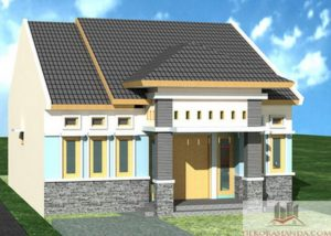 Model Rumah Idaman Untuk Pasangan Muda Minimalis Sederhana