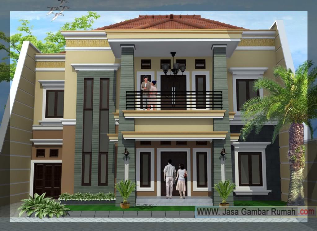 50 Desain Rumah Tingkat Minimalis