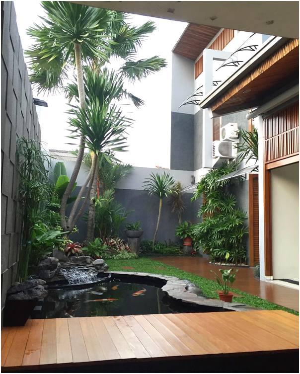 Desain Jasa Adalah: 19 Desain Taman Depan Rumah Sempit Minimalis