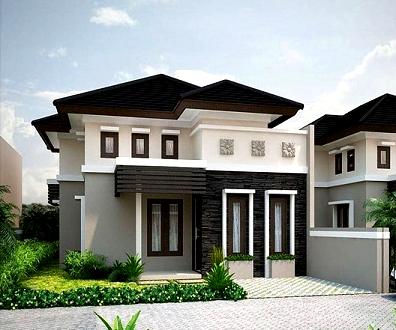 15 contoh model atap limas modern minimalis rumah impian