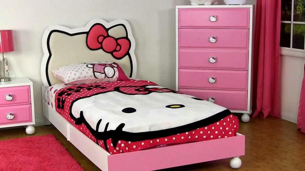 Desain Kamar Tidur Hello Kitty Keren Untuk Perempuan Rumah Impian