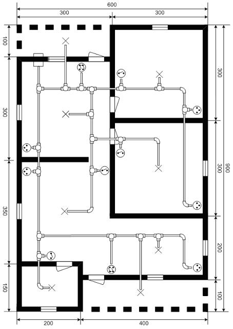 Wiring Diagram Instalasi Listrik : Instalasi listrik rumah lantai